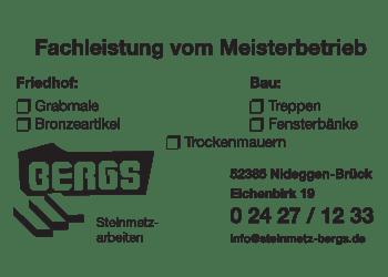 Bergs , Arnold Fliessen- Steinmetzbetrieb