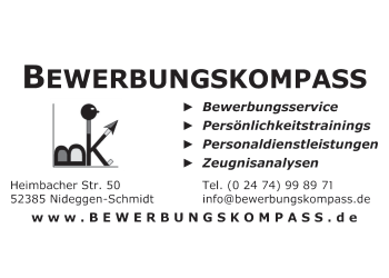 Bewerbungskompass, Bewerbungs-Service