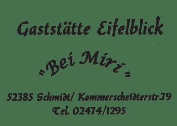 Eifelblick Bei Miri, Gaststaette