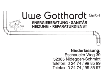 Gotthardt, Uwe – Heizung, Sanitär