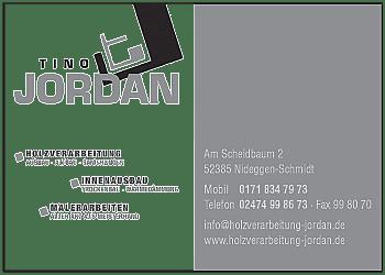 Jordan, Tino – Innenausbau, Malerarbeiten
