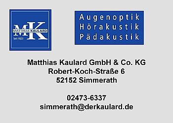 Kaulard, Matthias – Augenoptik, Hörakustik, Pädakustik