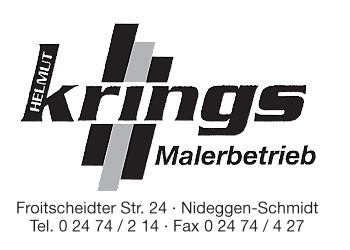 Krings, Helmut – Malerbetrieb