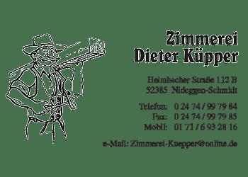 Kuepper, Dieter – Zimmerei