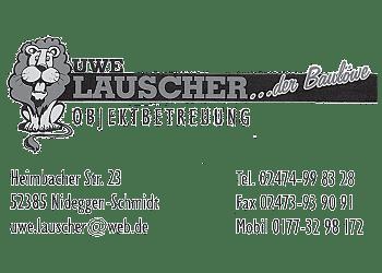 Lauscher, Uwe – Objektbetreuung