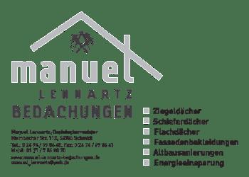 Lennartz, Manuel – Bedachungen-