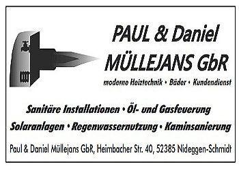 Müllejans, Paul und Daniel – Heizung + Sanitär