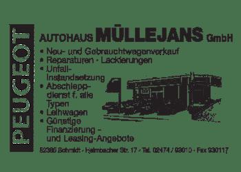 Muellejans Autohaus, Peugeot und Reparatur
