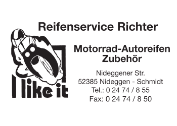 Richter, Frank -Reifenservice Handel und Montage