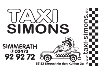 Simons, Taxi – Taxi-Unternehmen