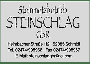 Steinschlag GbR – Steinmetzbetrieb
