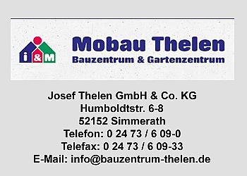 Thelen, Josef, GmbH u. Co.KG, -Baustoffhandel-Baumarkt