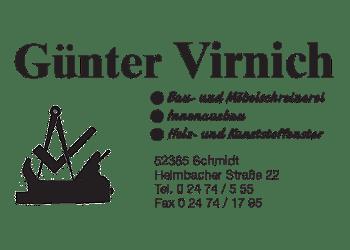 Virnich,Guenter – Schreinerei