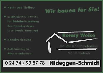 Weise, Ronny – Bauunternehmung