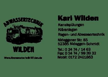 Wilden, Karl – Abwassertechnik