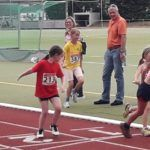 Mehrkampf-Kreismeisterschaften im Schloßparkstadion in Liblar