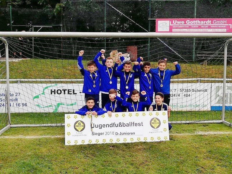 Sieger D- Junioren VFL 08 Vichttal