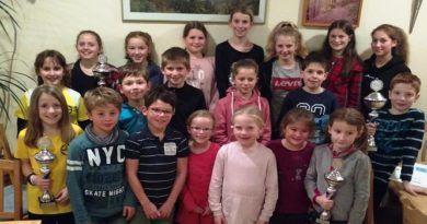 TuS Leichtathletik Kids feiten und feiern