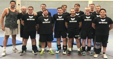 Vorbereitung auf neue Saisons (Volleyball)