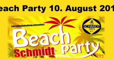 Beach-Party 2019