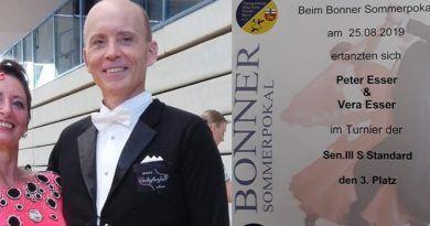 TuS Tanzgemeinschaft  auf Platz 3 bei Bonner Sommerpokal