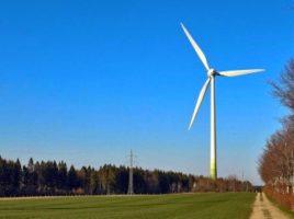 Neuer Windpark Im Waldgebiet Buhlert